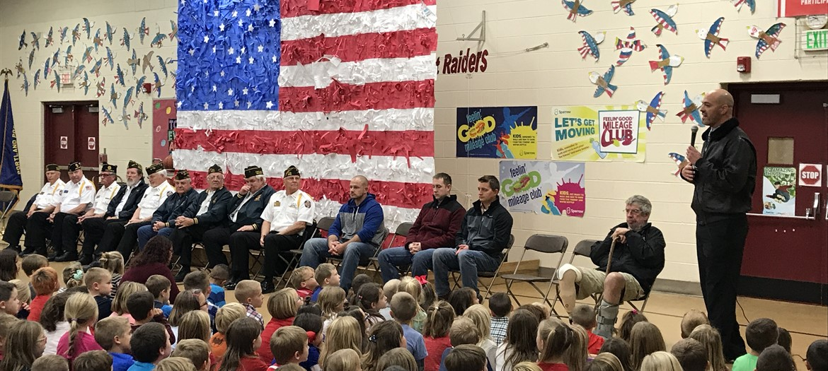 Oakwood Veterans Day Celebration