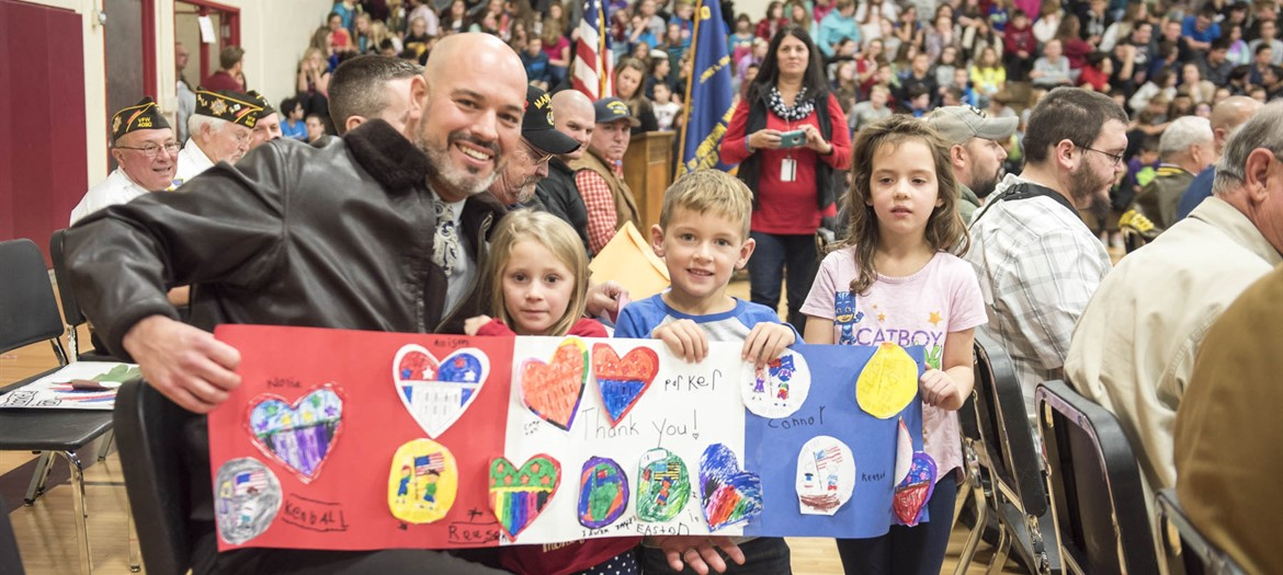 Oakwood and Middle School Veteran's Day Celebration