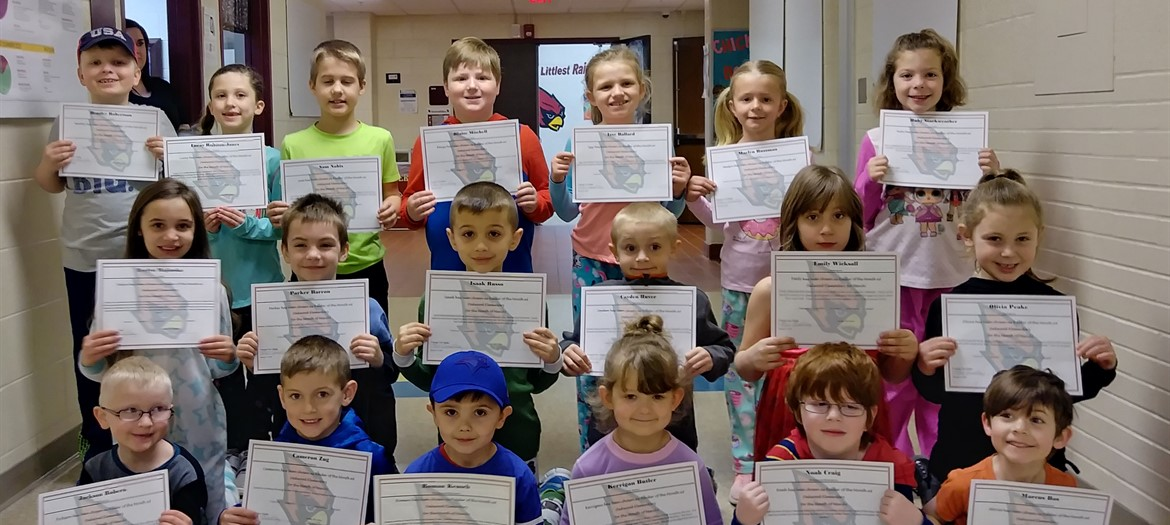 Oakwood March students of the Month