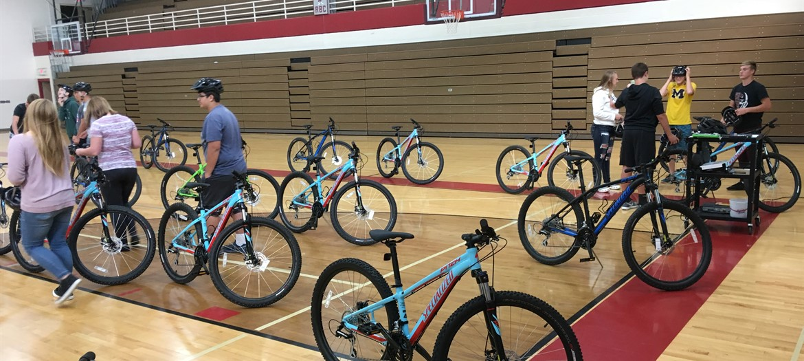 Cycling Unit in High School PE