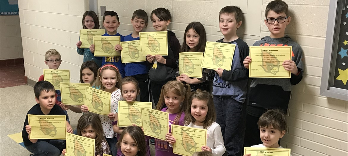 Oakwood's January Raiders of the Month