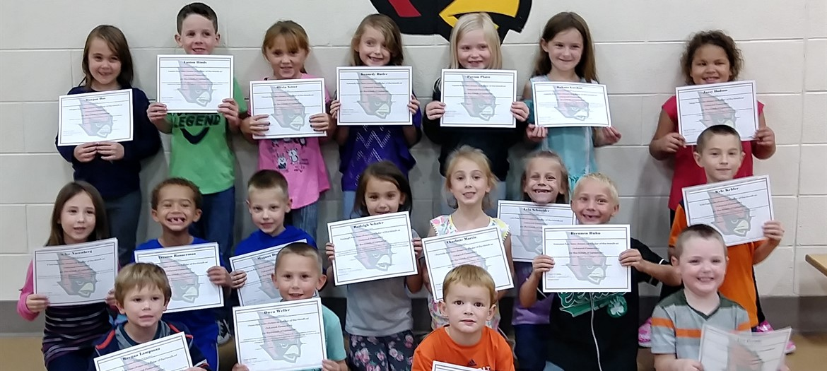 Oakwood September Raider's of The Month